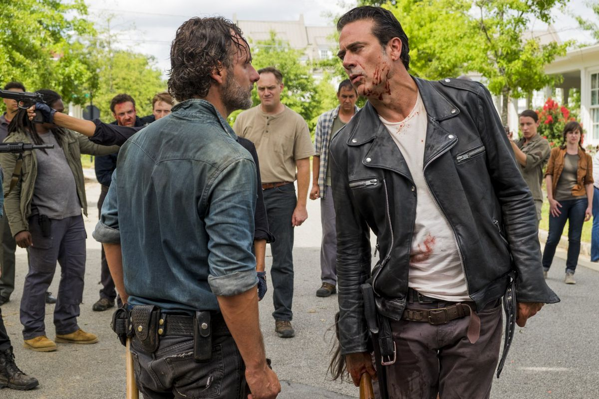 The Walking Dead Season 7 Finale The First Day Of The Rest Of Your Life Reveals Just How Stuck In Place The Show Is Vox