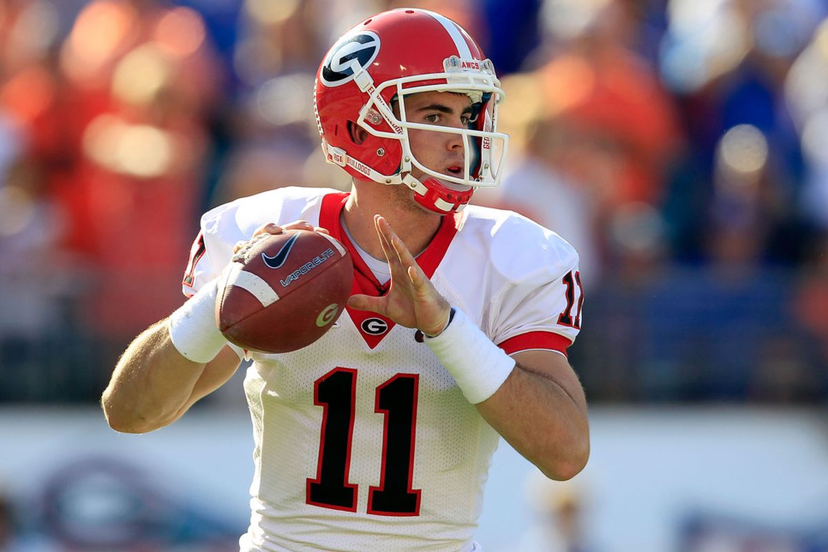 Aaron Murray:  The all-time Georgia touchdown passing leader.