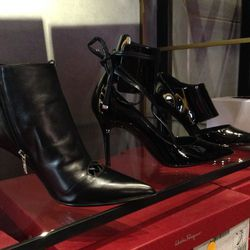 Ankle boots, $299; heels, $249