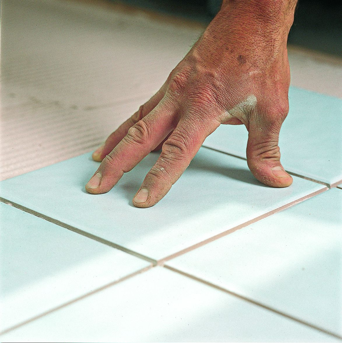 Setting Bathroom Tile On Thinset Mortar