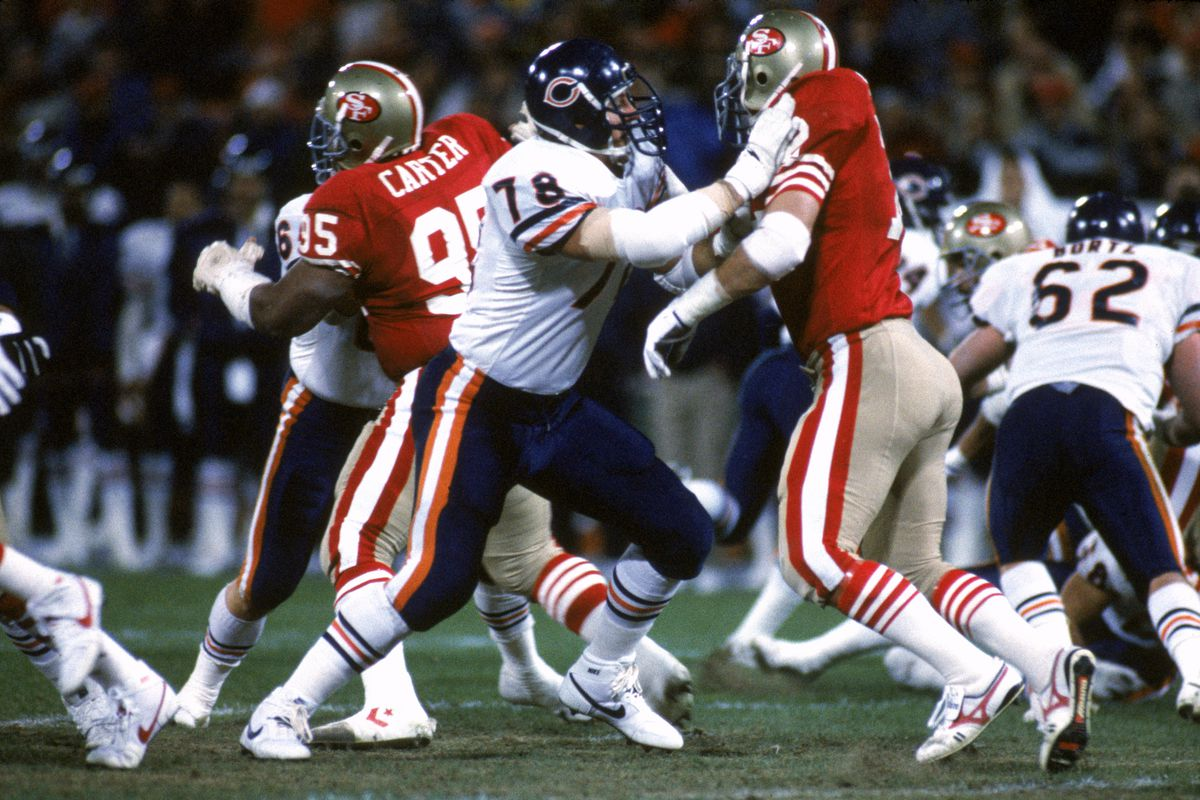 Keith Van Horn in one of the epic battles between the Bears and the Niners over both team's long history