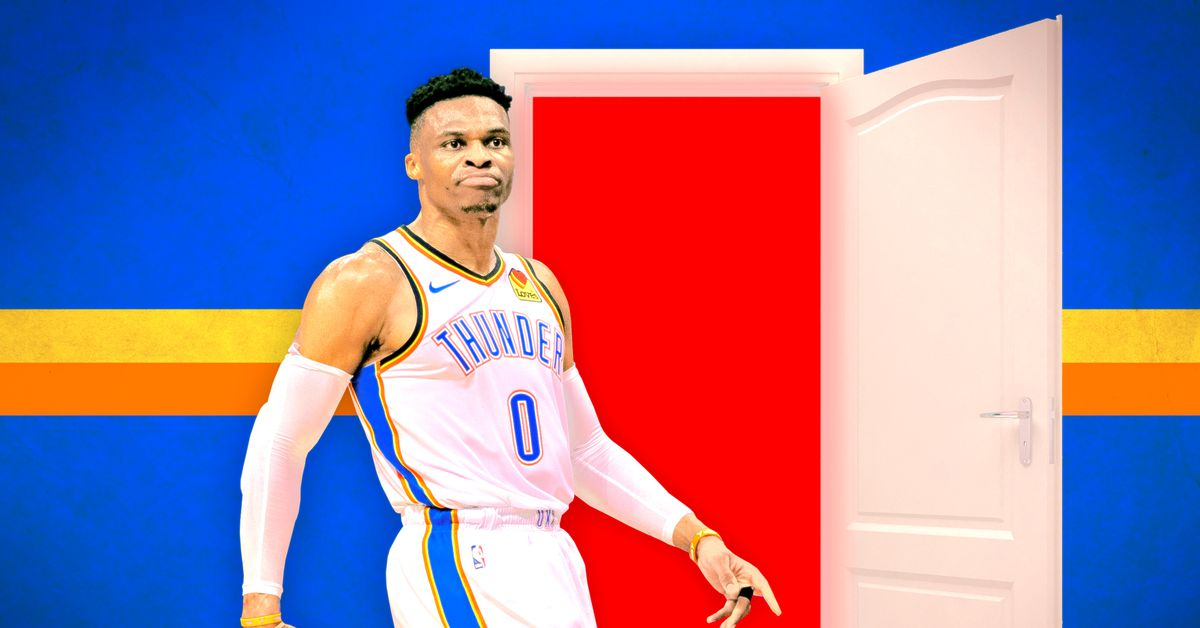 cheaper a53b1 824fd Russell Westbrook Is Gone: A Sad Farewell to an Oklahoma ...