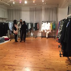 The sale space
