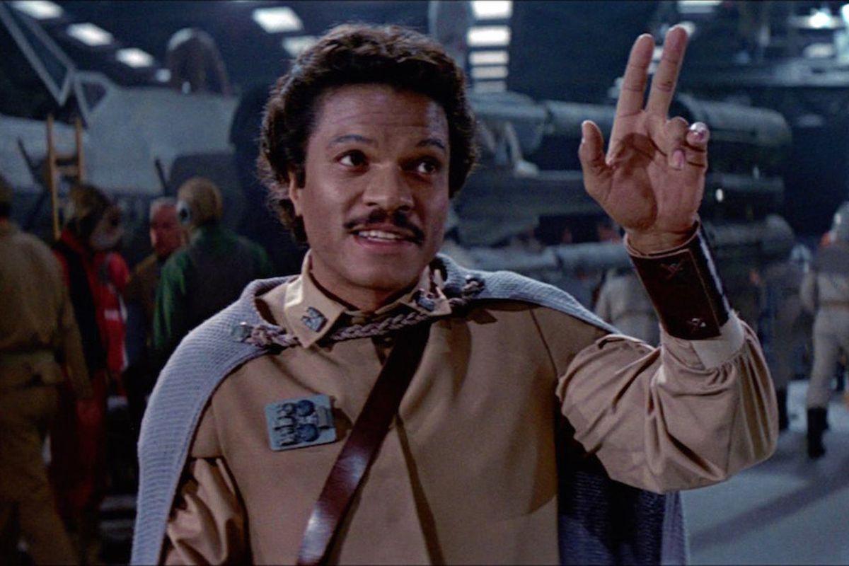 "<span data-author=""-1"">Billy Dee Williams return as </span>Lando Calrissian in Star Wars: Return of the Jedi"