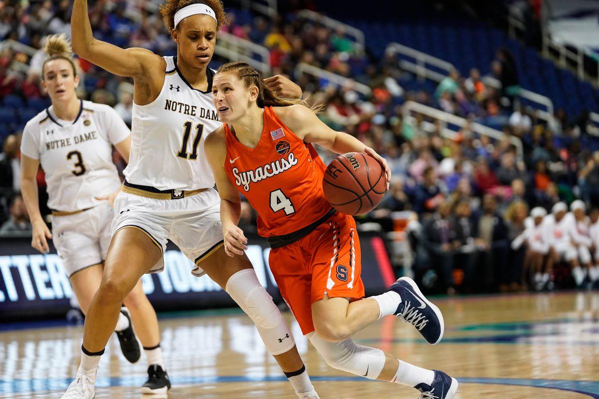 NCAA Womens Basketball: Atlantic Coast Conference Tournament - Syracuse vs Notre Dame