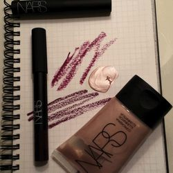 When it comes to beauty, I'm a big copycat. I'm always asking the cool girls on the street what they're wearing, which is how I found this amazing matte purple brown lipstick from <b>Nars</b> called Volga. <b>It's a more wearable version of Lorde's goth G