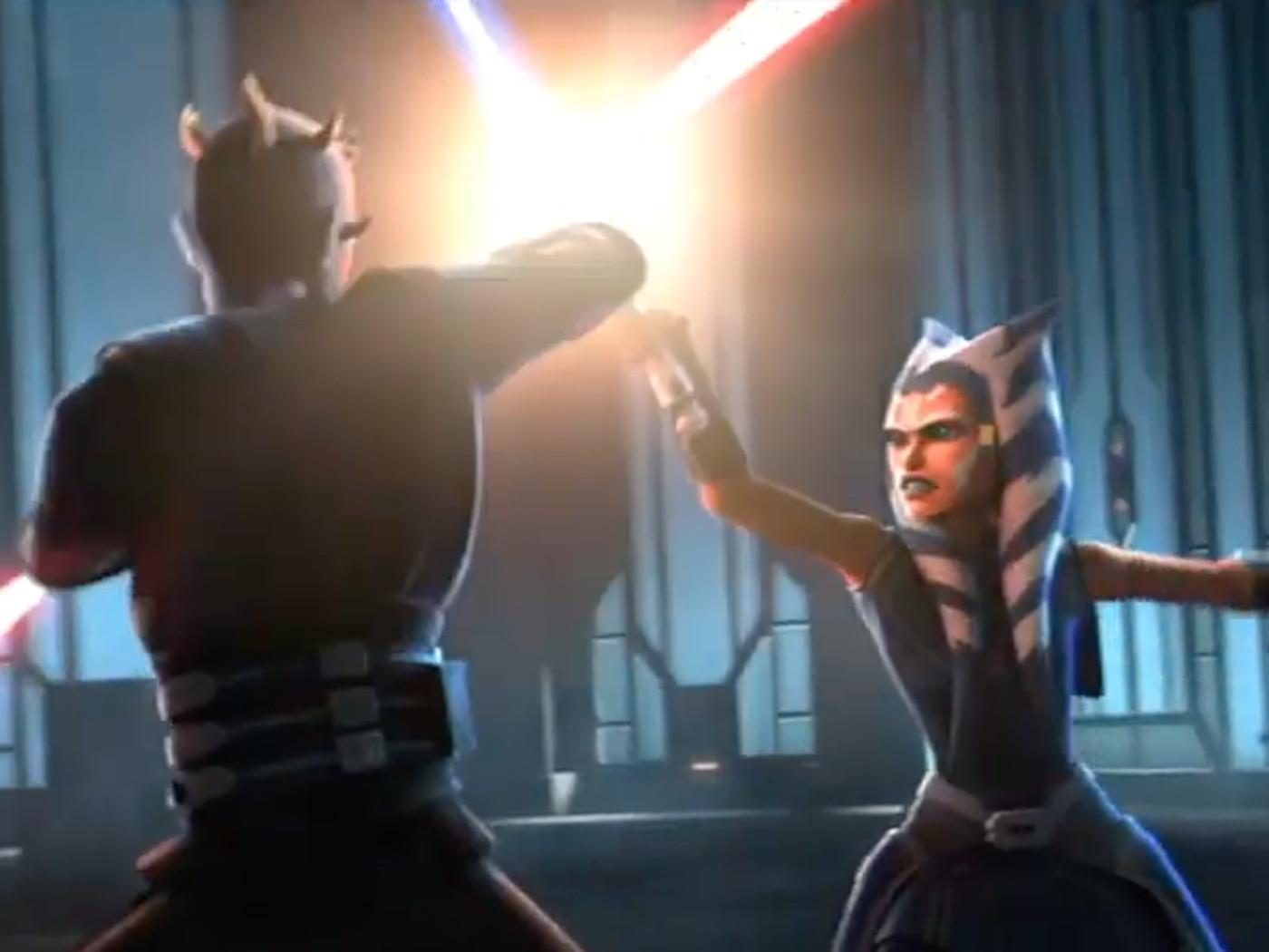Star Wars The Clone Wars Season 7 Trailer Ahsoka Anakin Are Back Polygon