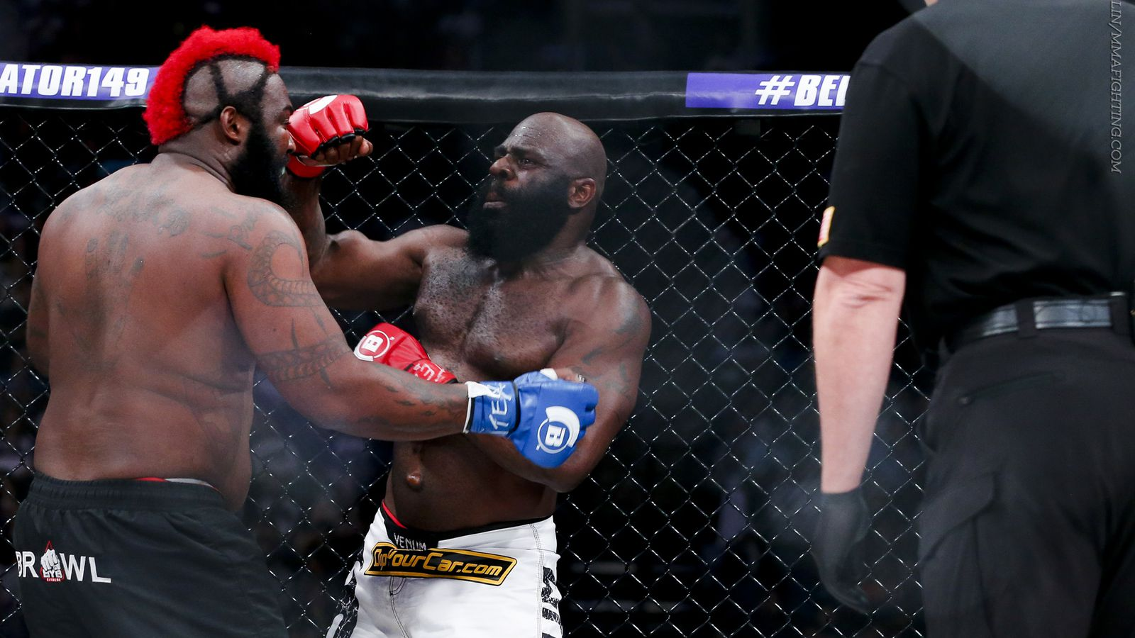 kimbo slice says as long as he could still u0027breathe u0027 losing was