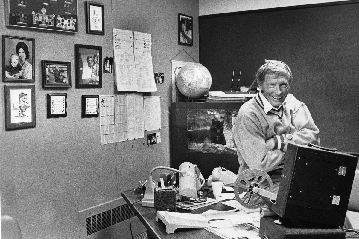Minnesota Vikings pro football head coach Jerry Burns is shown in a Star Tribune photo January 7, 1987, by John Croft.