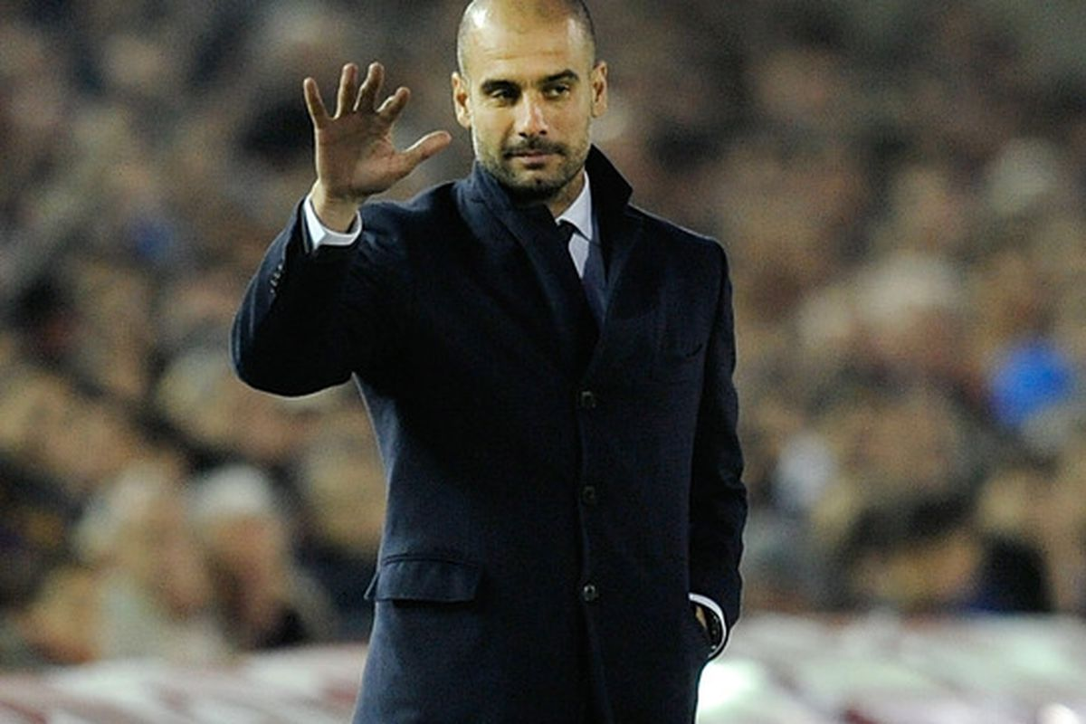 So Pep is a Jedi master as well? What can't the man do?!?!