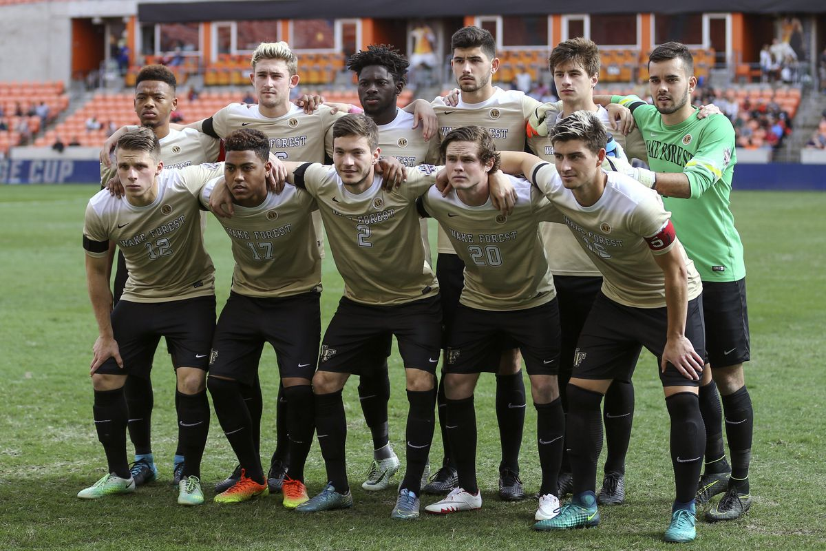 wake forest men's soccer fall schedule released - blogger so dear