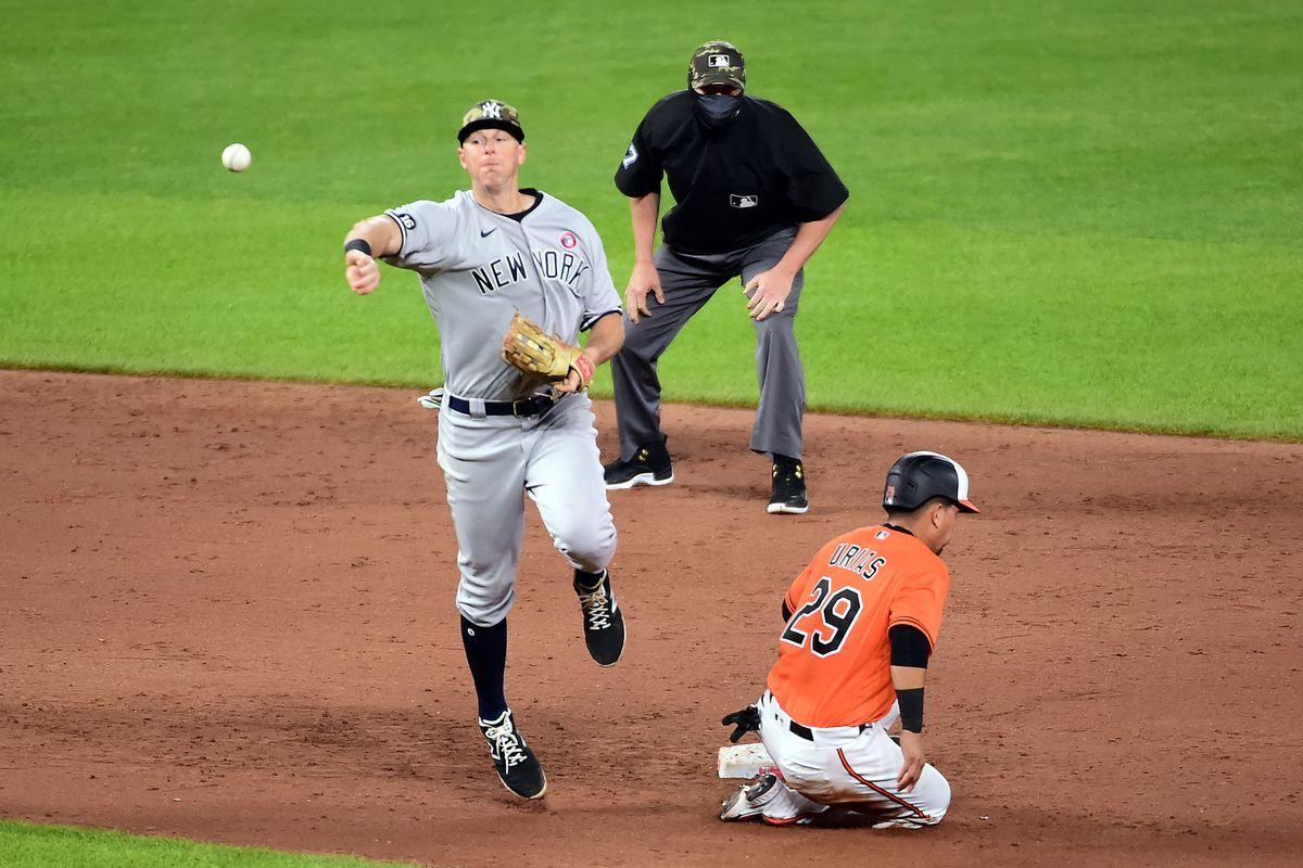 MLB: New York Yankees at Baltimore Orioles