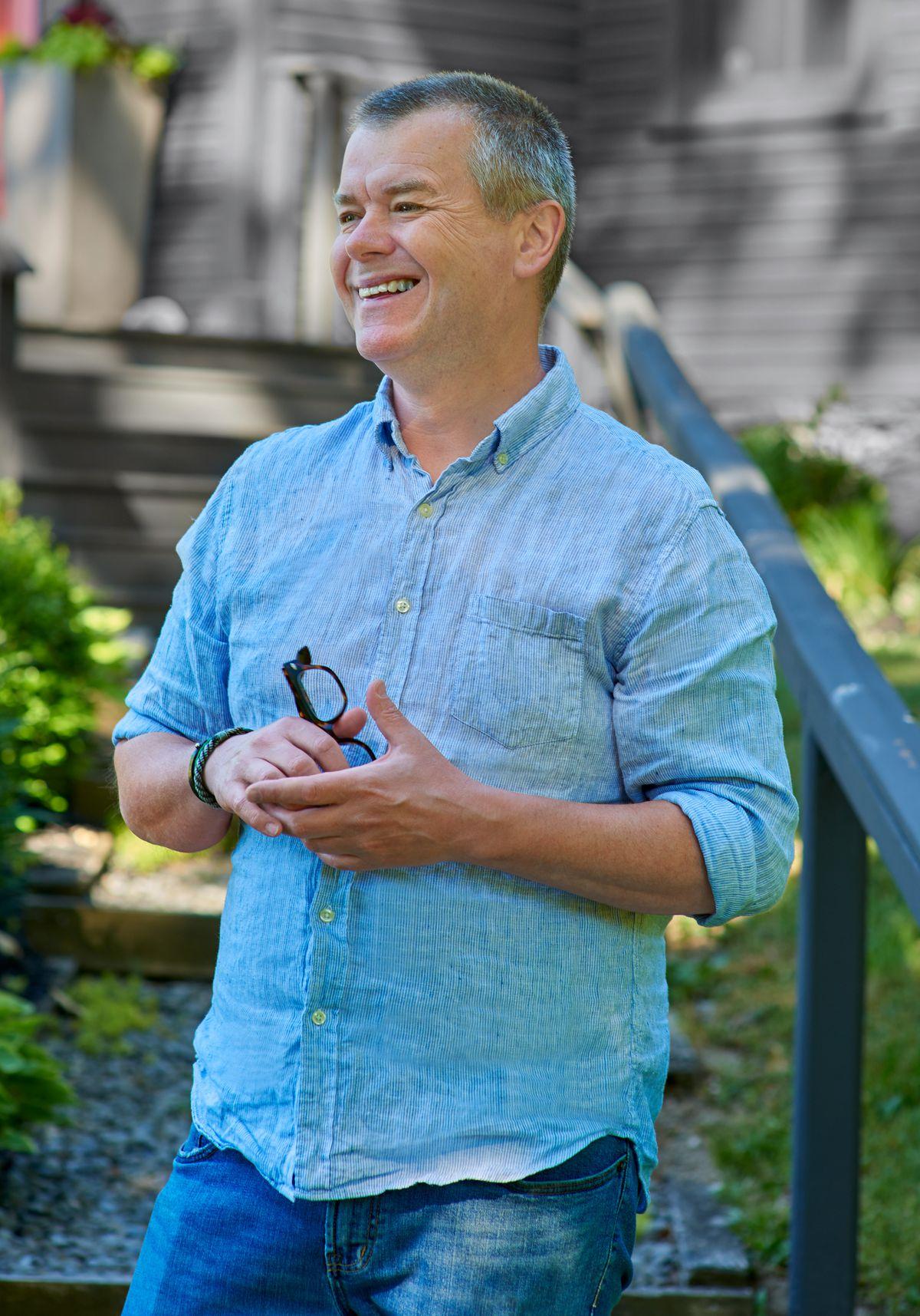 homeowner Drew Evans, Getting Schooled, Sep/Oct 2020