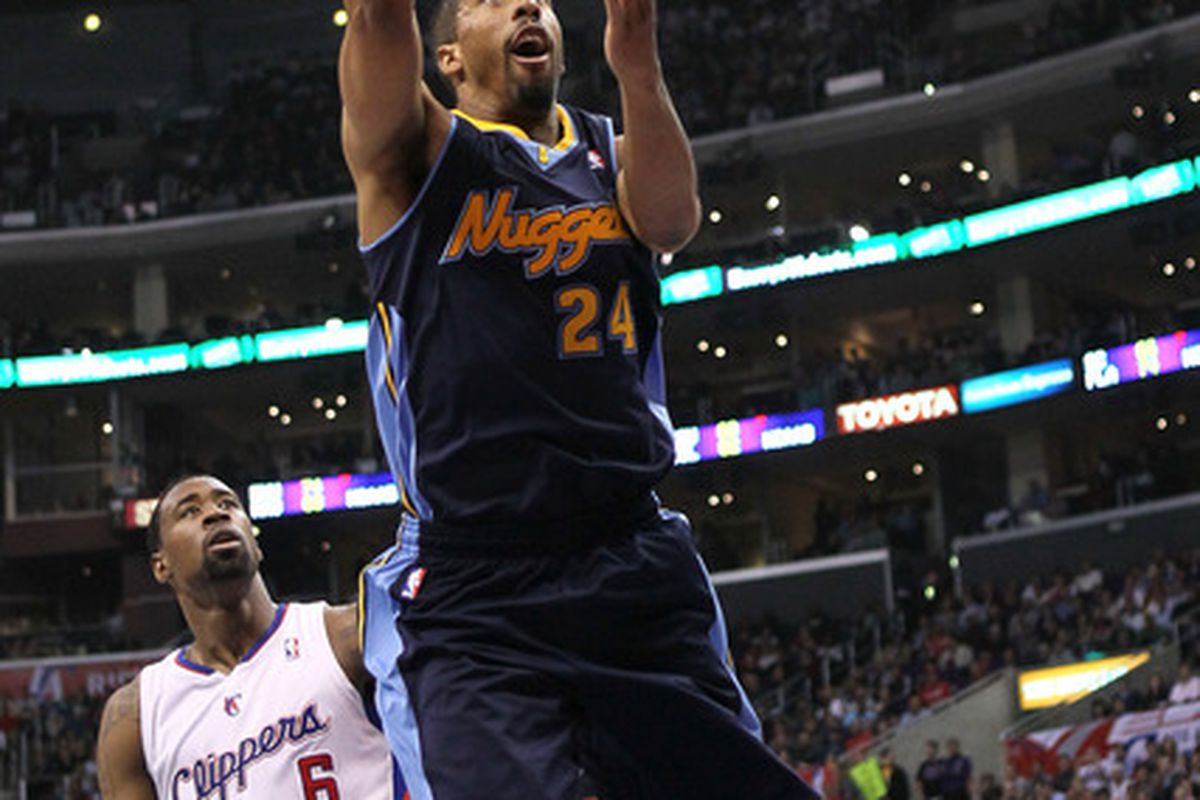 Will this man, Andre Miller, be back with the Nuggets next season?