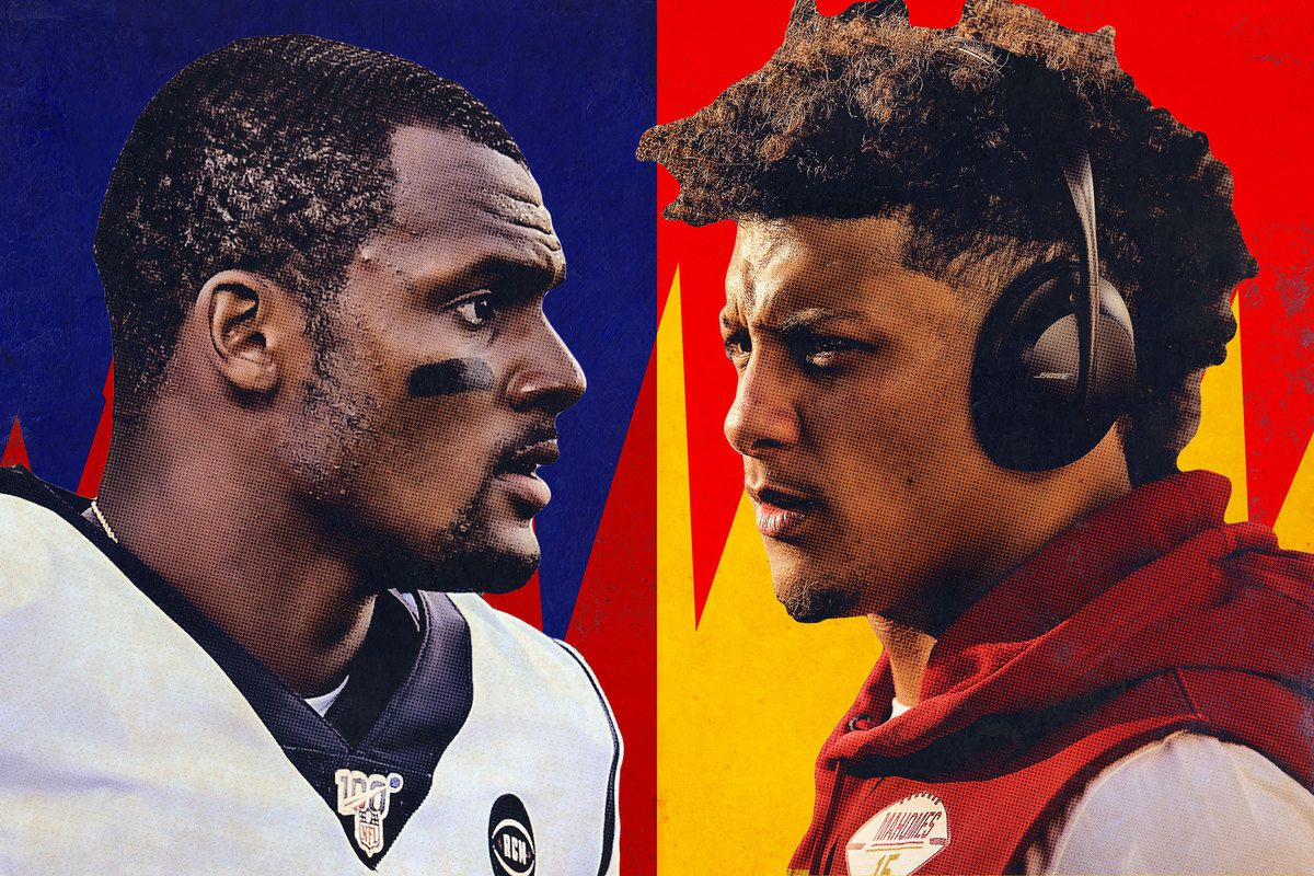 Nfl Week 6 Our First Patrick Mahomes Deshaun Watson Matchup