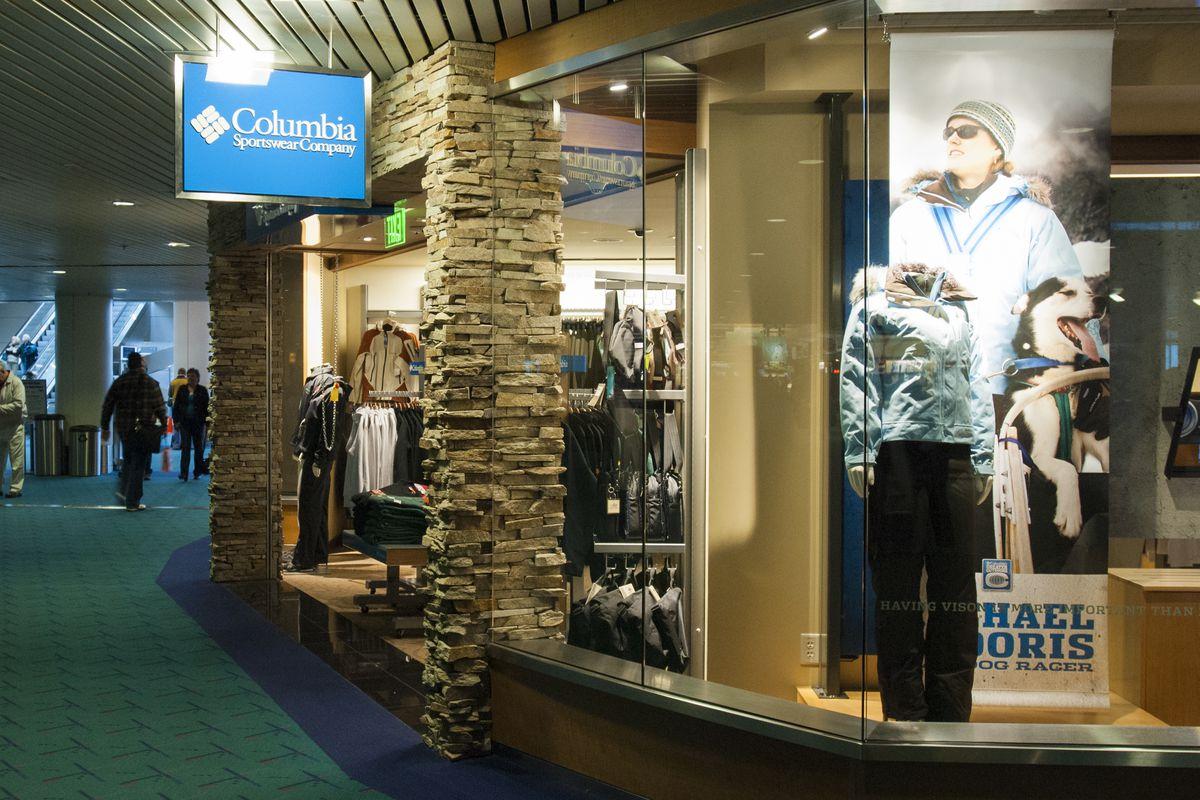 Columbia's Storefront