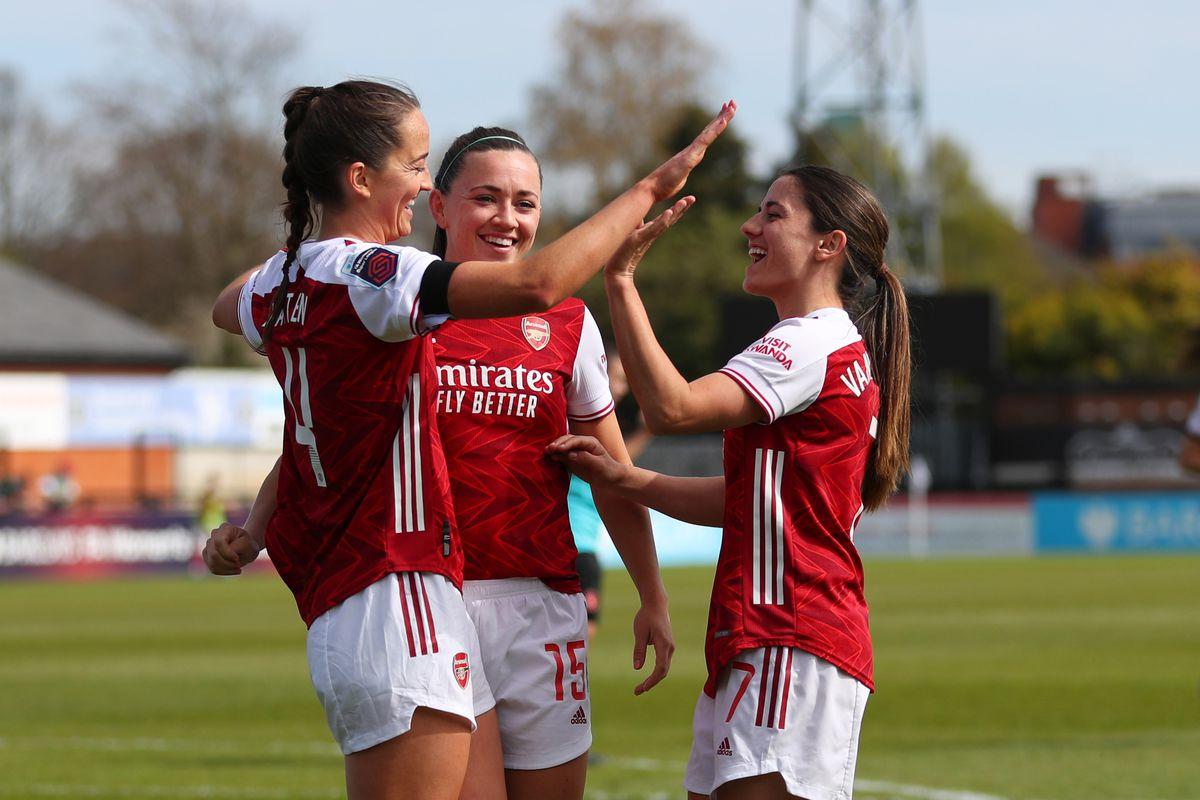 Arsenal Women v Gillingham Ladies: Vitality Women's FA Cup Fourth Round