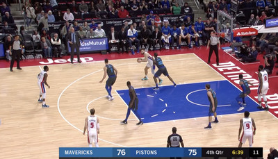 Screen Shot 2019 02 01 at 8.39.50 AM - Blake Griffin and Reggie Jackson played the most miserable 13 seconds of hot potato basketball