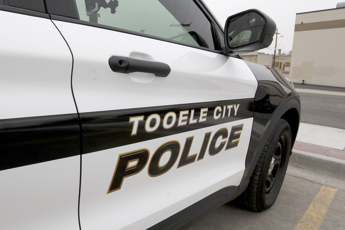 A Tooele police vehicle is pictured in Tooele on Monday, Dec. 28, 2020.