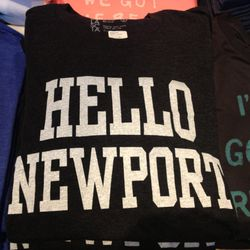 Dilascia Hello Newport men's tee, $38
