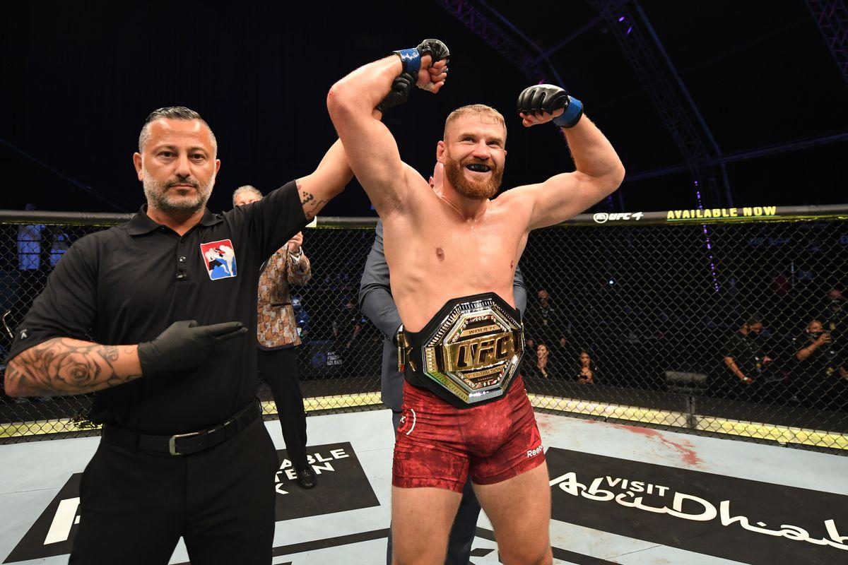 Jan Blachowicz UFC light heavyweight title