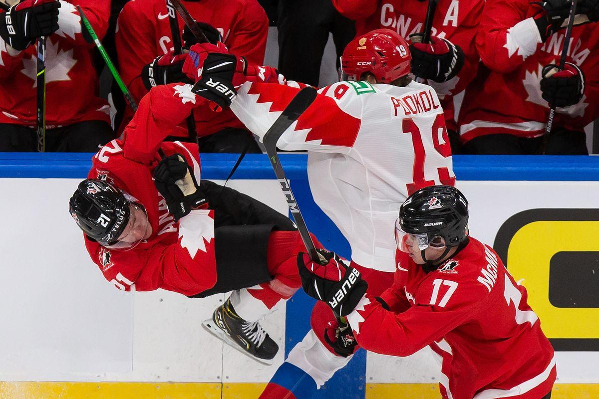 Canada v Russia: Semifinals - 2021 IIHF World Junior Championship
