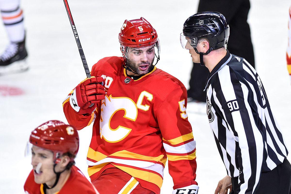 NHL: JAN 11 Oilers at Flames