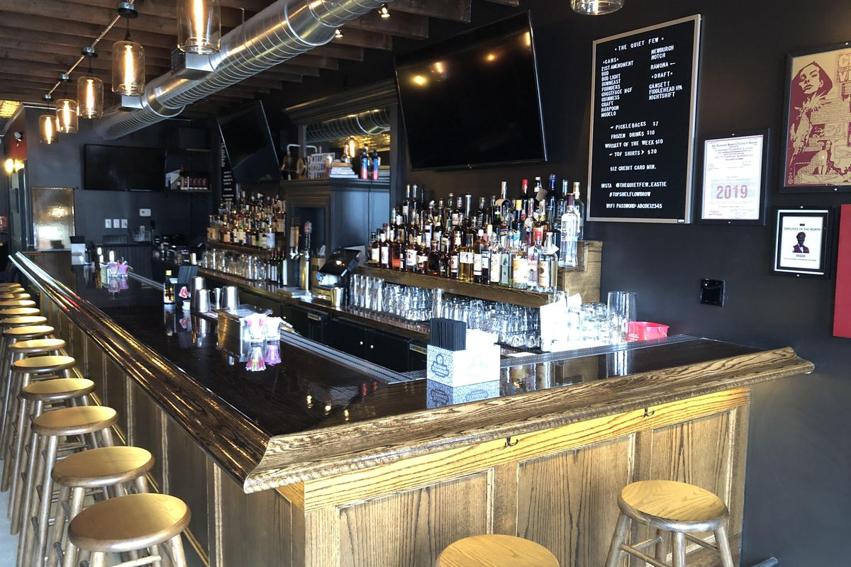 Quiet Few Whiskey Bar Opens In East Boston Eater Boston