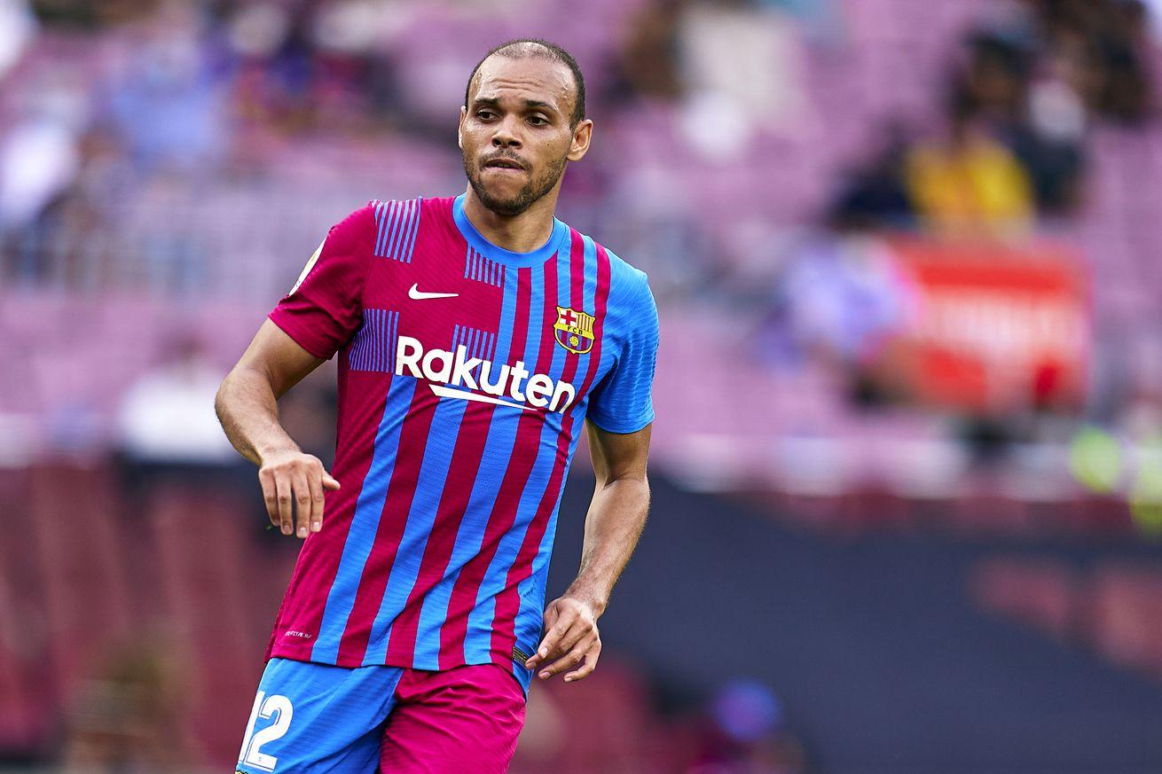 Barca confirm Braithwaite will undergo knee surgery