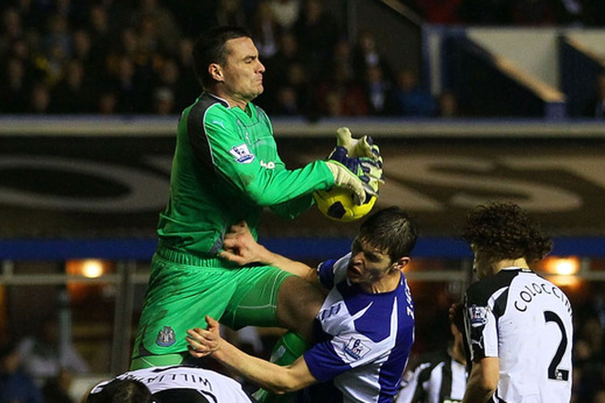 Did Steve Harper's loyalty to Newcastle cost him playing time?