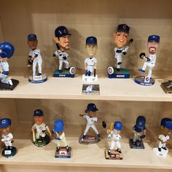 And even more Cubs bobbleheads