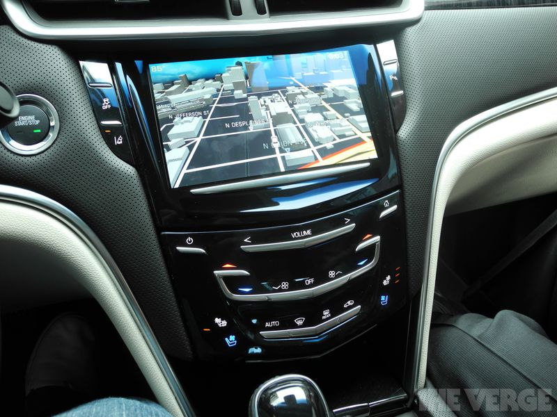 Cadillac CUE Driving Is Safer And More Dangerous Than