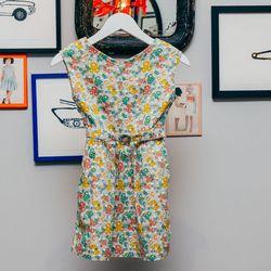 "Quail Dress, <a href=""http://www.caramel-shop.co.uk/quailbabydress-navypaintedflowerprint-6m.html"">$143</a>."