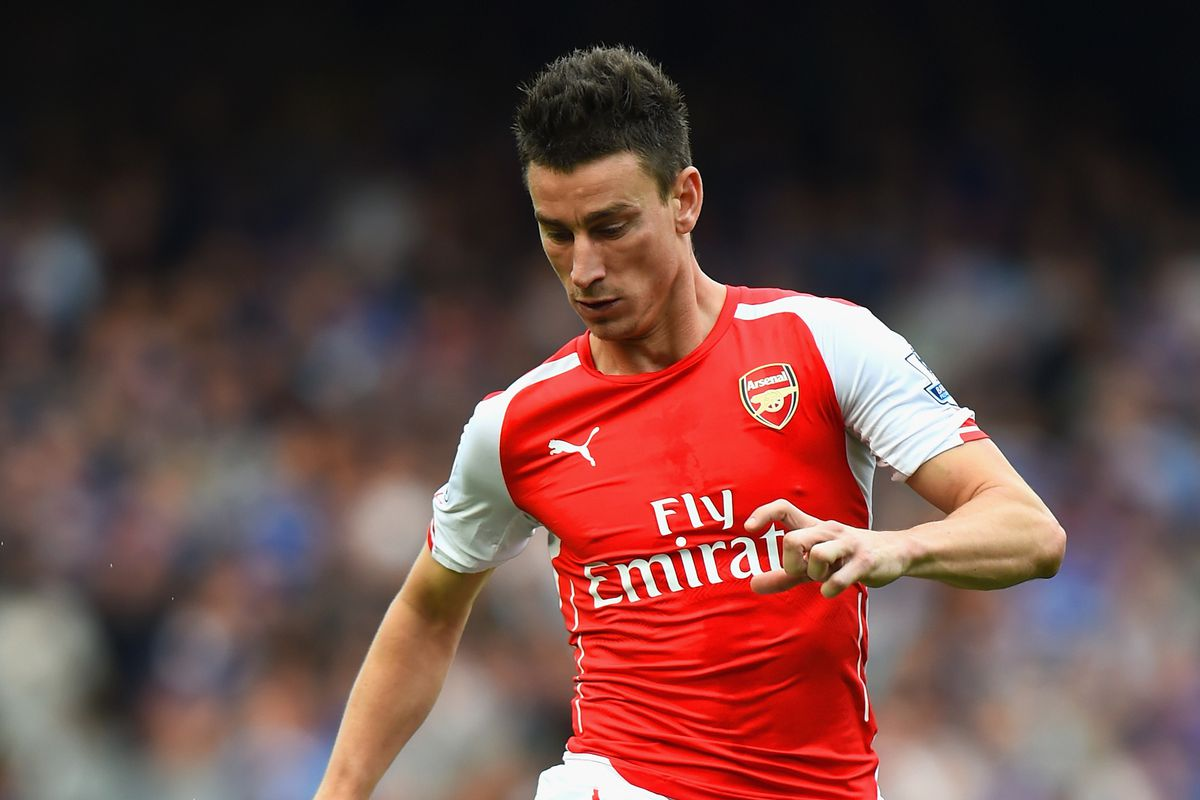 Laurent Koscielny, seen here with two functioning legs