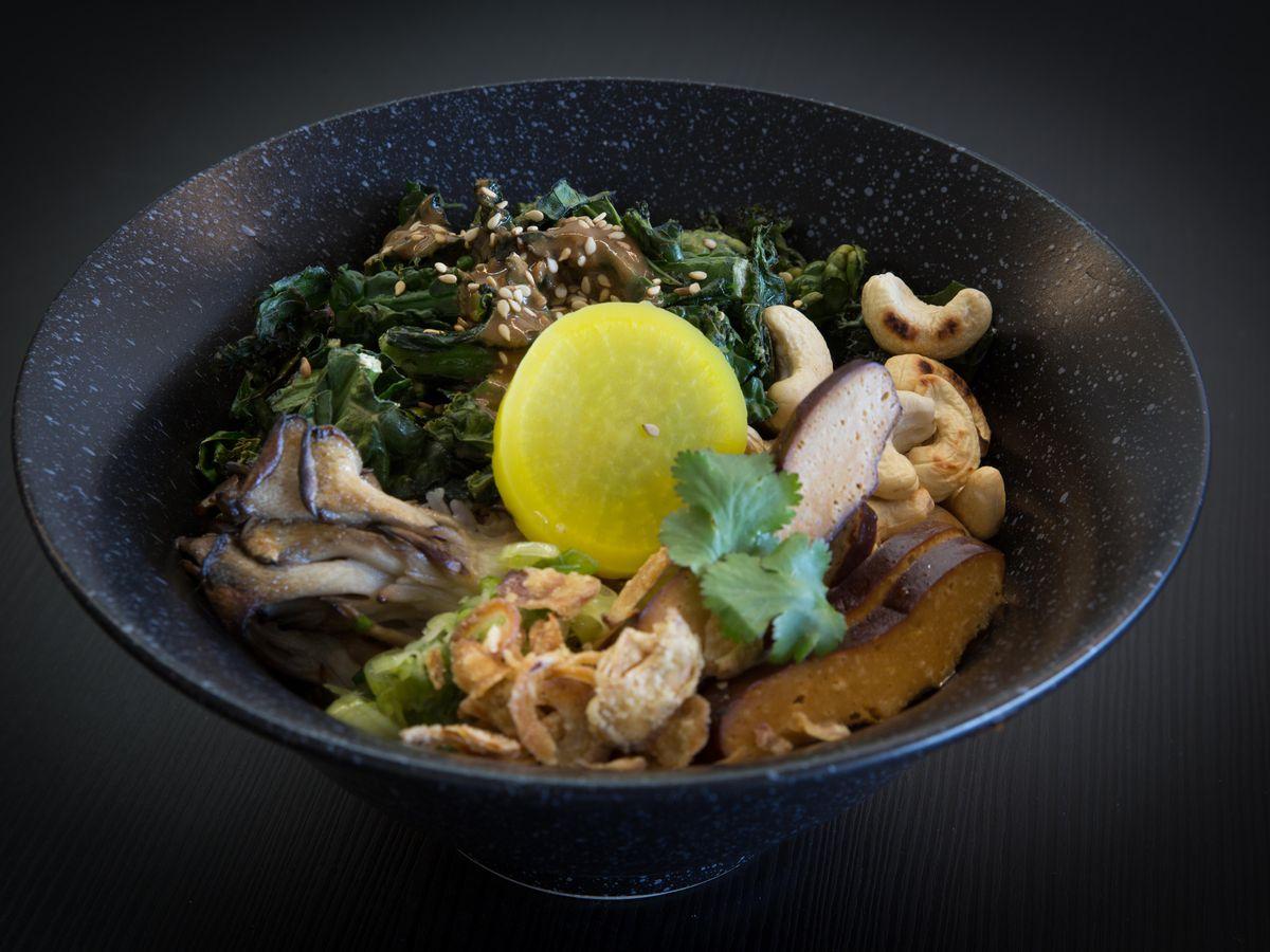 Vegetarian bowl at Every Grain