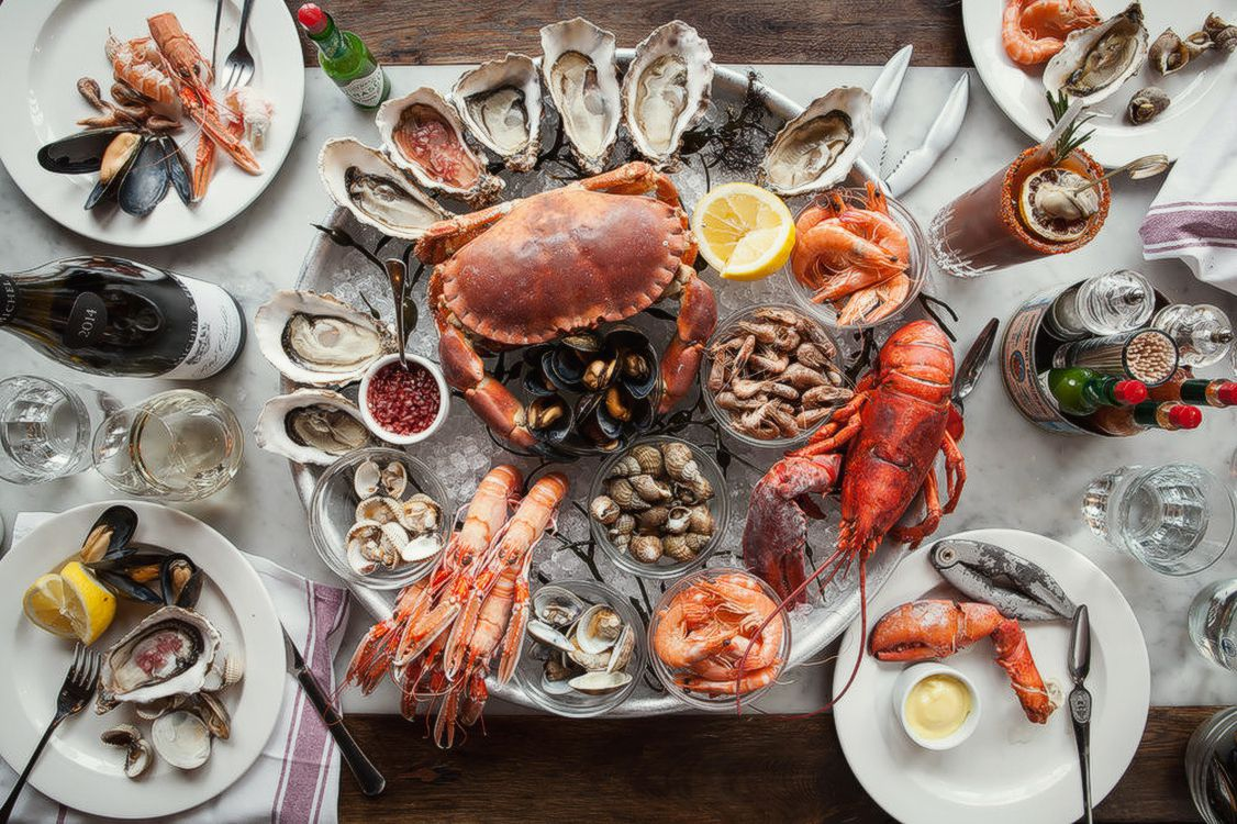 Best seafood restaurants in London: Wright Brothers at Borough Market