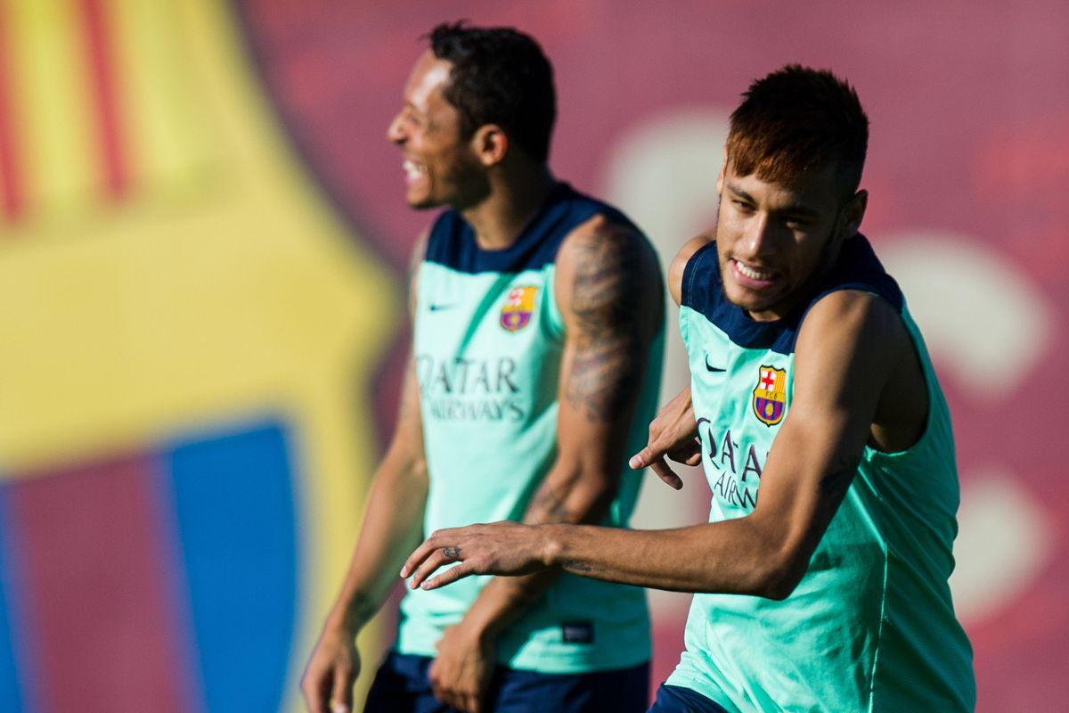 One of the best players in the world...and Neymar :)
