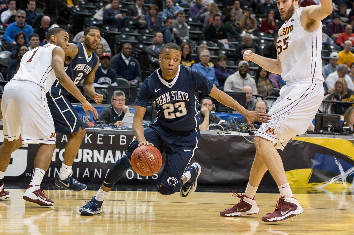 NCAA BASKETBALL: MAR 13 Big Ten Basketball Tournament - Minnesota v Penn State