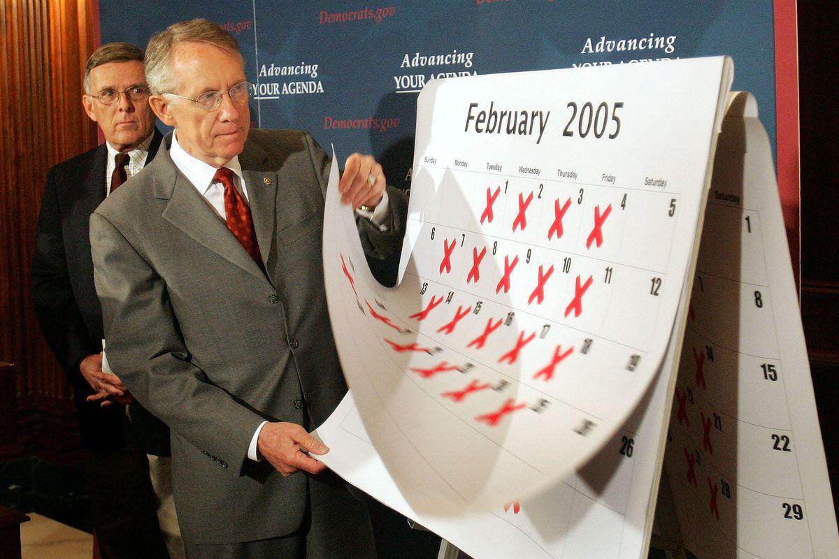 Harry Reid Criticizes Republican Policy Efforts