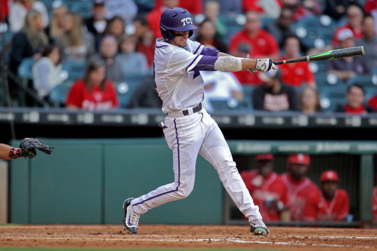 Dane Steinhagen got his first career home run vs. Louisiana-Lafayette!