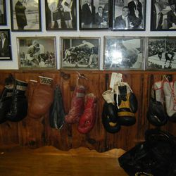 Don Fullmer's home is museum of his boxing career.