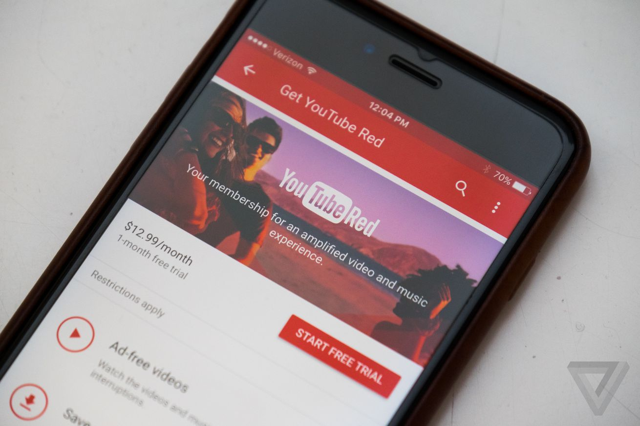 youtube red plans to screen its next original film in theaters