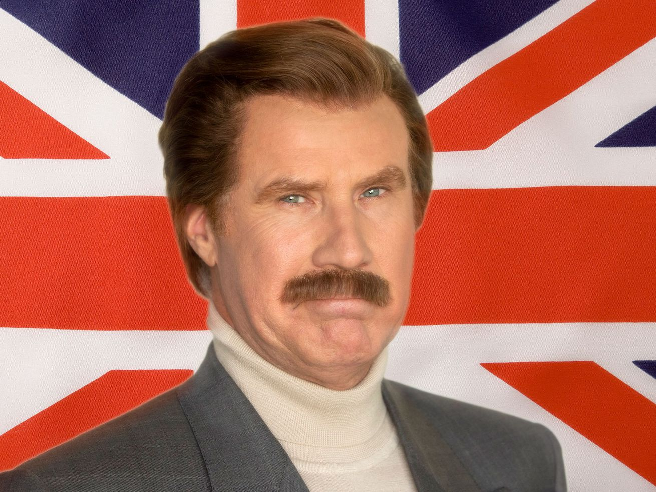 Ron Burgundy Talks England With A Real British Person