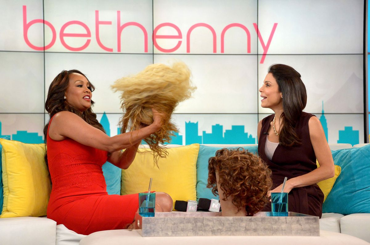 Fox shows off her wigs on 'Bethenny' (GettyImages)