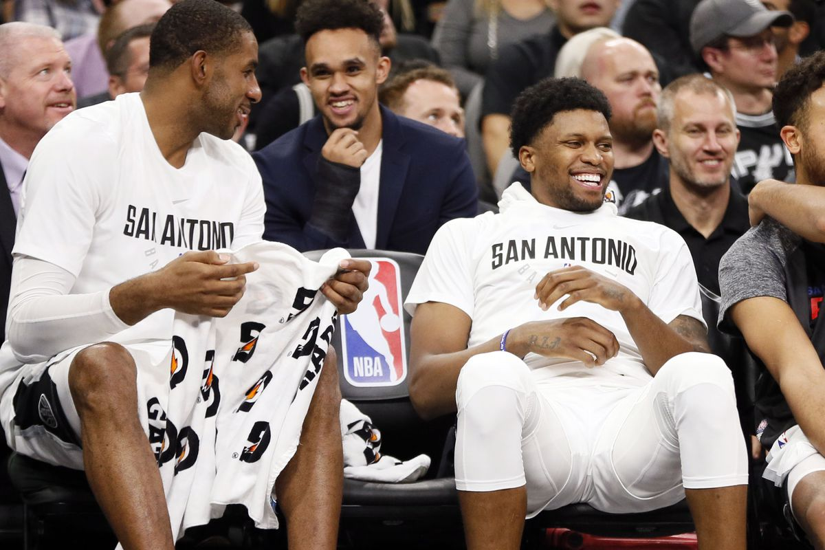 00cecf85e Rudy Gay and LaMarcus Aldridge rumored to return when the season resumes