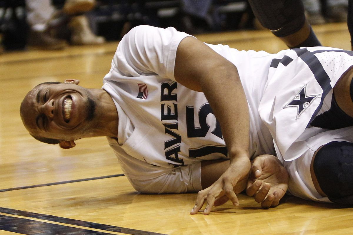 We all winced a little watching Xavier their last time out.