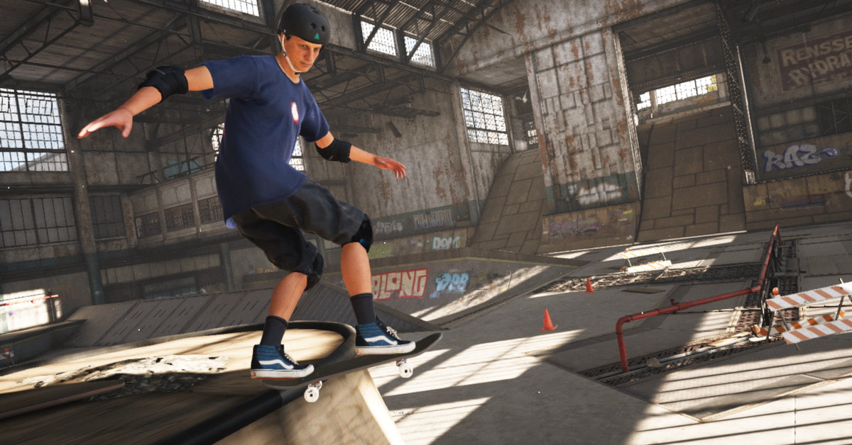 Tony Hawk's Pro Skater 1+2 is surprisingly solid on the Switch