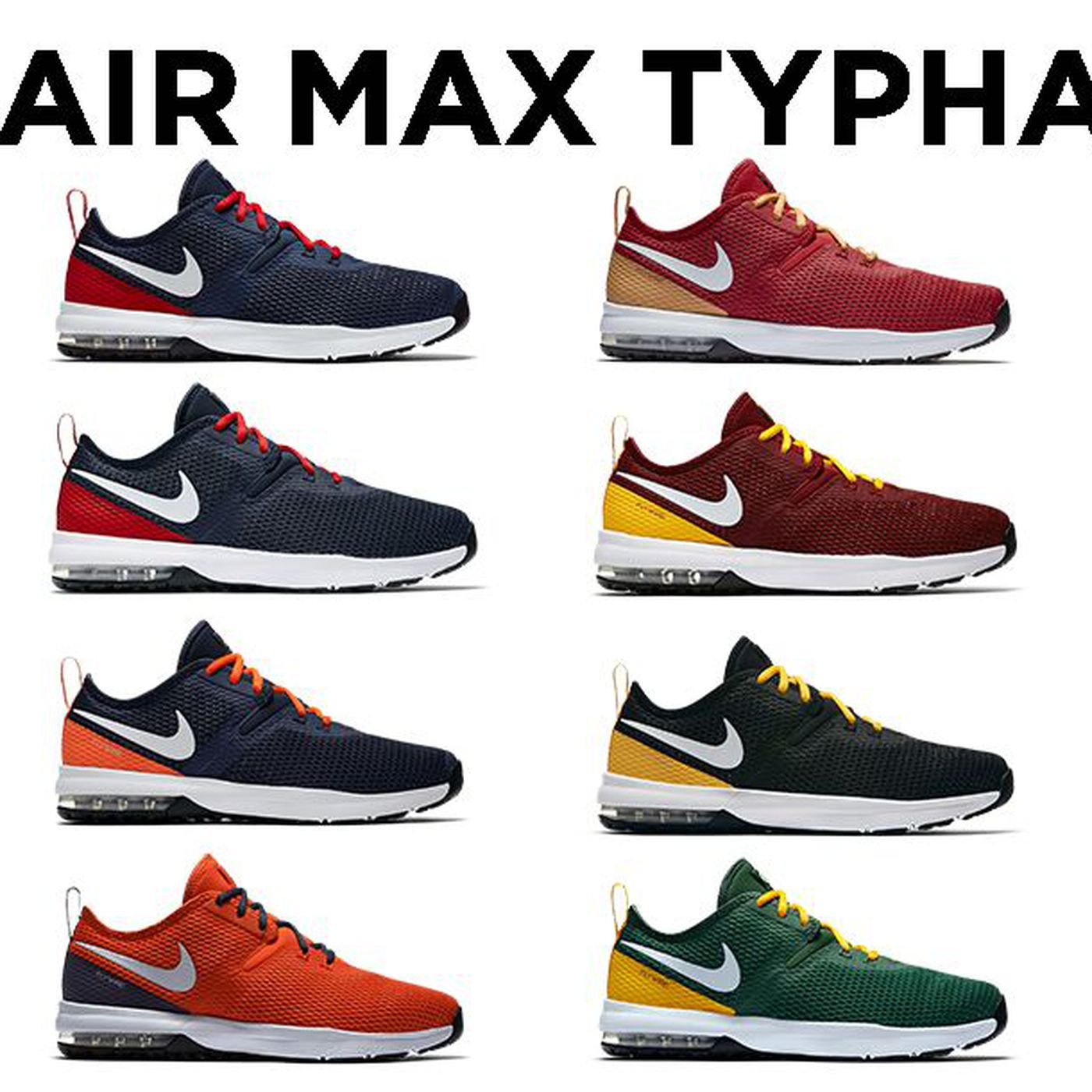 Nike releases new NFL-themed Air Max Typha 2 shoe collection ... 625842172b