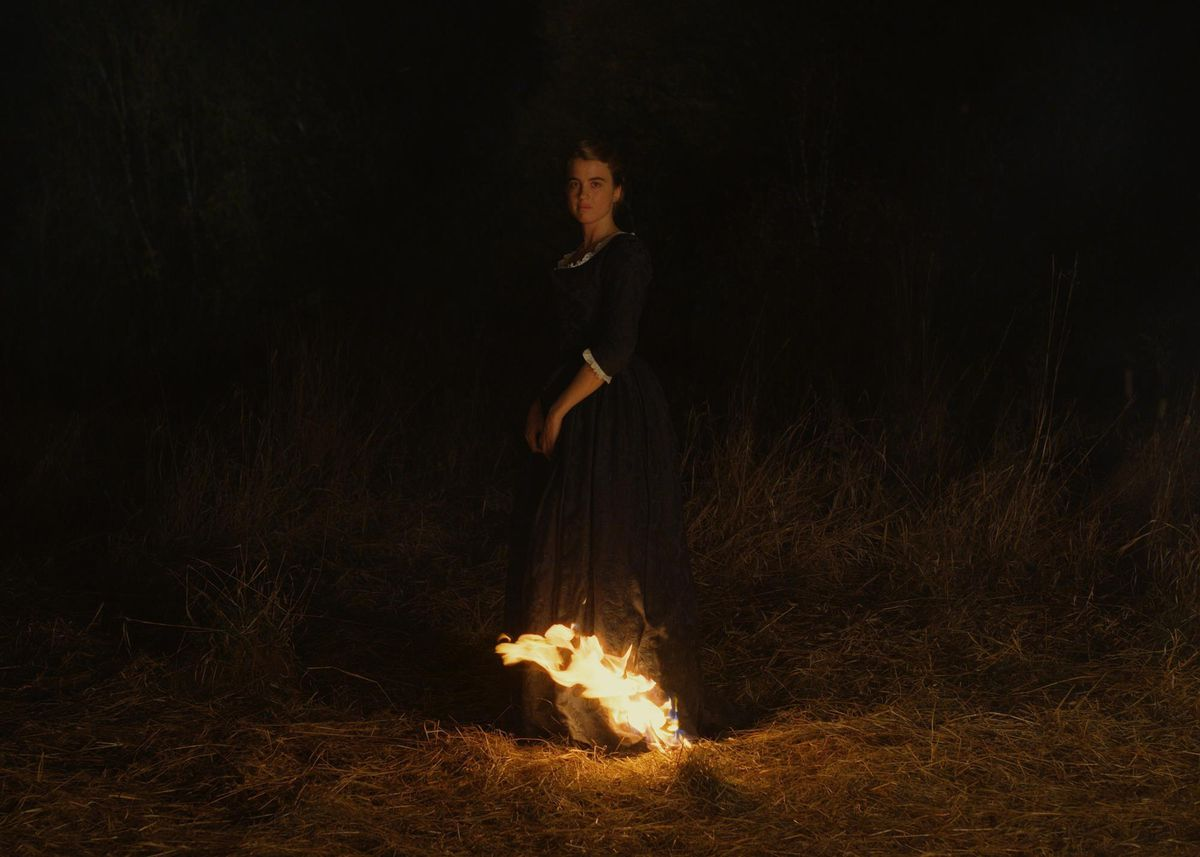 Adèle Haenel in Portrait of a Lady on Fire.