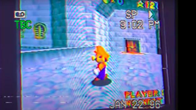 A Super Mario 64 horror machinima.